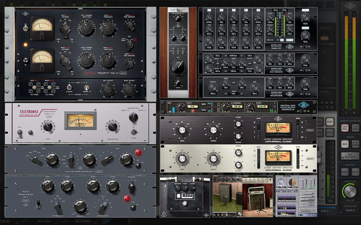 Universal Audio Apollo 8 Interface with UAD-2 DUO Processing
