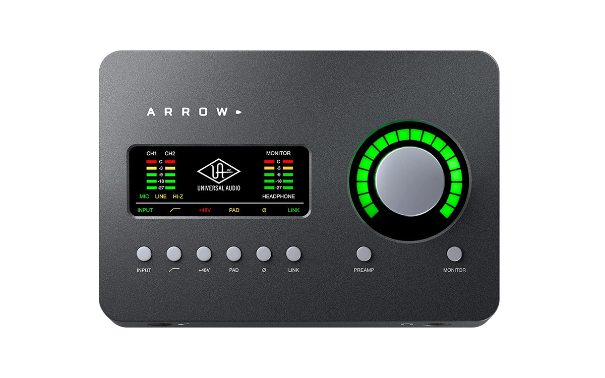 Universal Audio Arrow 2x4 Thunderbolt 3 Audio Interface with UAD DSP