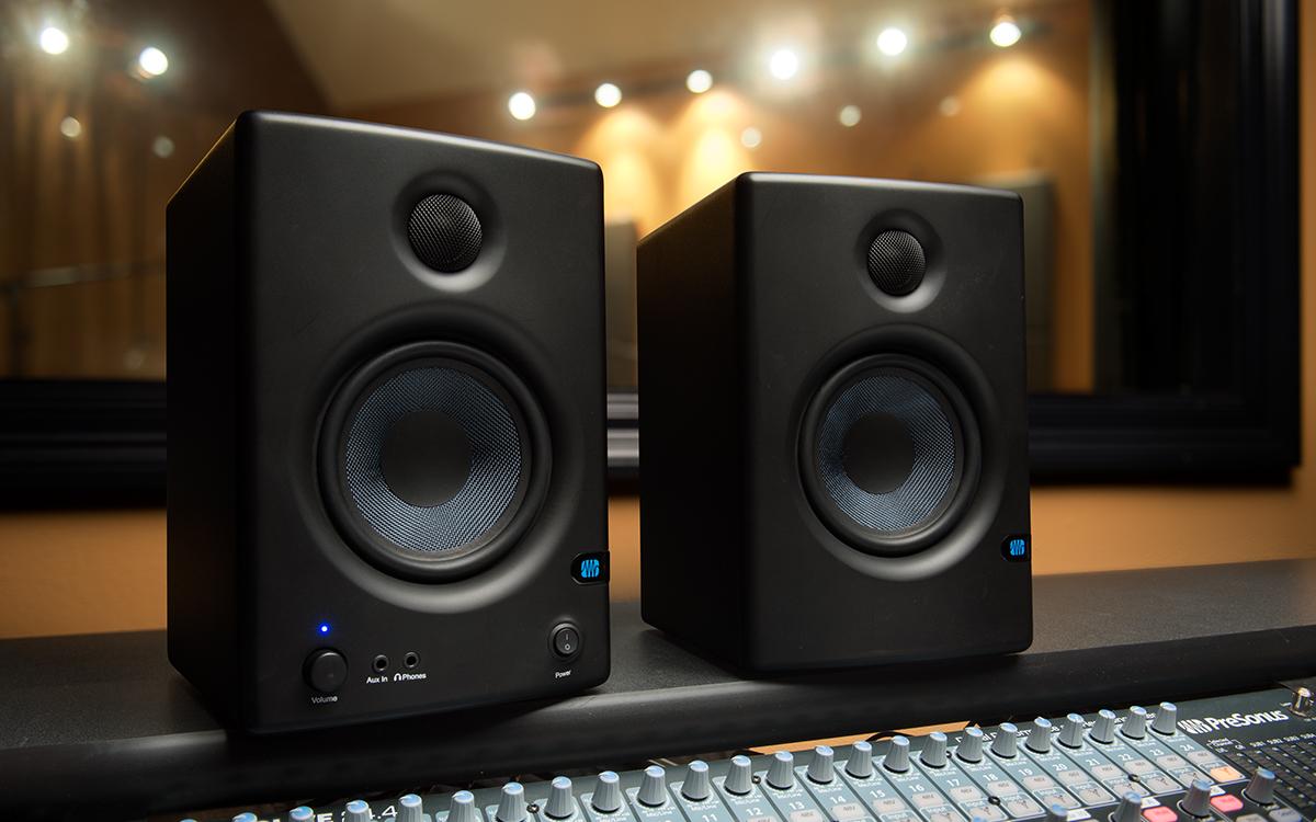 presonus eris e4 5 4 5 powered studio monitors proaudiokenya. Black Bedroom Furniture Sets. Home Design Ideas